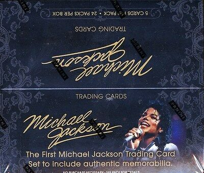 Panini Michael Jackson 2Nd Wave Trading Cards 20 Box Case Blowout Cards