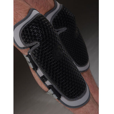 Forcefield Ce Approved Level 1 Strap On Leg Knee Protector Pads Armour