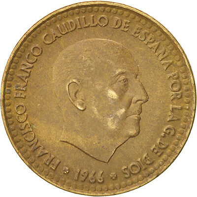 [#39303] Spain, Francisco Franco, caudillo, Peseta, 1967, AU(50-53)