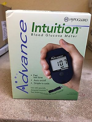 SPECIAL! Advance Intuition Blood Glucose Monitor NIB--FREE SHIPPING!