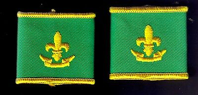 Scouts Canada Pair Retired Scout Epaulets Boy Scouts Scouting
