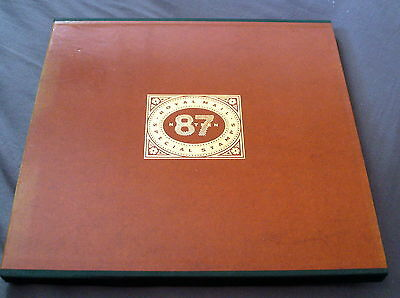 Great Britain 1987 Year Book In Slipcase, No Stamps, Good Condition.