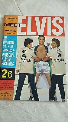 MEET ELVIS STAR SPECIAL NUMBER ONE vgc collectable
