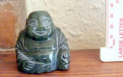 Small Buddha in carved hardstone
