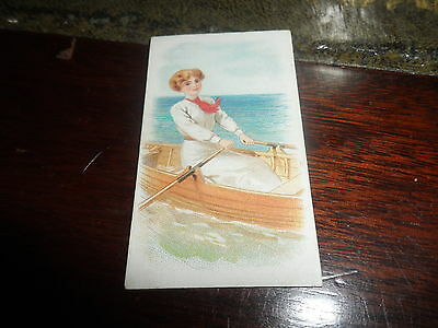 B.a.t. ~ Sporting Girls Card  ~ Rowing