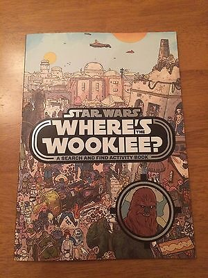 Star Wars Where's The Wookiee? Search & Find Activity Book