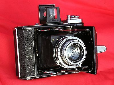 Zeiss Ikonta 16 on 120, erc, Opton Tessar, 1-1/500th all wkg, super condition