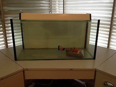 Small 2ft Fish Tank with Light