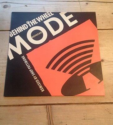 "DEPECHE MODE Behind The Wheel 1987 UK 12"" vinyl single"