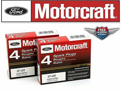 Set of 8 Original Motorcraft Spark Plug SP-405