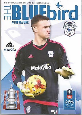 CARDIFF CITY v FULHAM (FA Cup 3rd Round) 2016-17