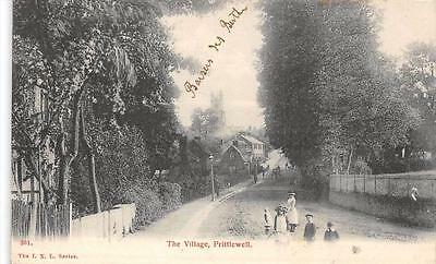 Cpa Angleterre The Village Prittlewell