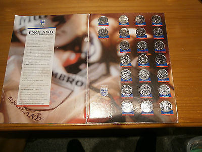 Sainsbury England Squad Medal Collection 1998