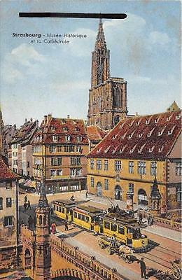 Cpa 67 Strasbourg Musee Historique Tramway