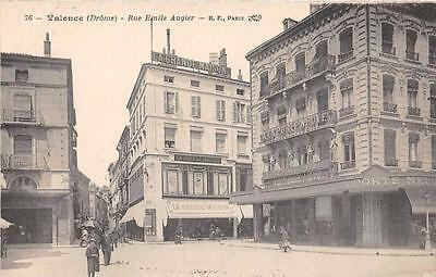 Cpa 26 Valence Rue Emile Augier