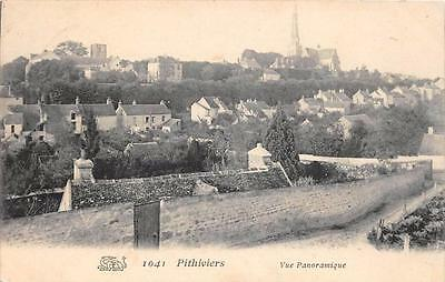 Cpa 45 Pithiviers Vue Panoramique