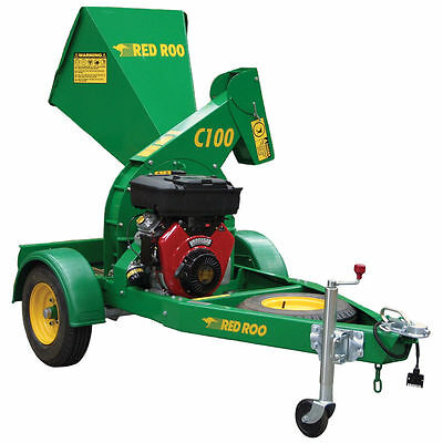 Red Roo Wood Chipper