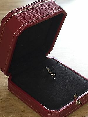 Genuine Cartier 18K White Gold Love Charm With Box