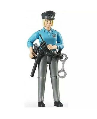 Policewoman - Light Skin with Accessories - Bruder Toys - 60430