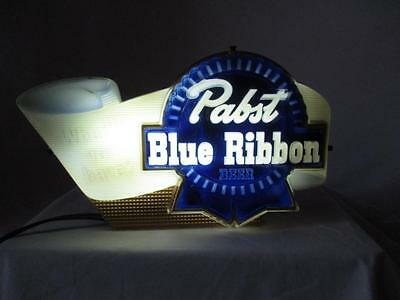 Vintage Pabst Blue Ribbon Beer What'll you have?  Lighted Sign  Works Great 1954