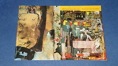 Throwing Muses - House Tornado - Original 4AD promo poster