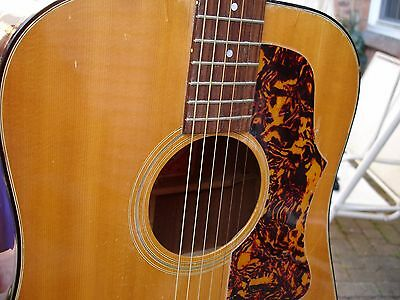 1970's Gibson J-50 Guitar serial# 130081 with case