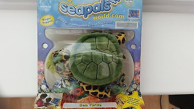 Seapals Finger Puppet -Sea Turtle- New And Sealed