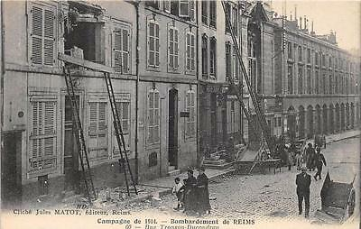 Cpa 51 Reims Rue Tronson Ducoudray