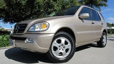 2002 Mercedes-Benz M-Class 4Dr 2002 MERCEDES ML 320 AWD IN VERY VERY CLEAN CONDITION INSIDE & OUT, RUNS GREAT!!