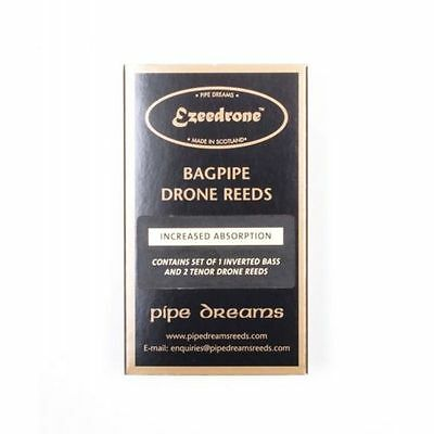 Ezeedrone Drone Reeds Easy Absorption Standard Tenors Inverted Bass Pipe Dreams