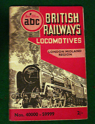 Paper Railwayana Train Spotters Book London Midland Region 1951 by  Ian Allen