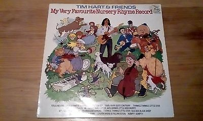"Tim Hart & Friends - My Very Favourite Nursery Rhyme Record - 12"" LP album"