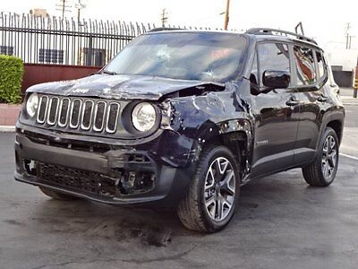 2015 Jeep Renegade Latitude 4WD 2015 Jeep Renegade Latitude 4WD Damaged Salvage Only 18K Miles Priced to Sell!!