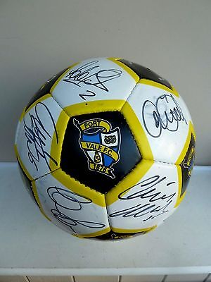 Port Vale Fc Signed Football - 2011/12 Season - Signed By 21 Of The First Team