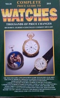 Watch Encyclopedia Value Id Guide Collector's Book 17,000  Listings 1,200  Pages