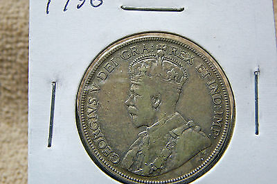 1936 Canada Fifty Cents George V