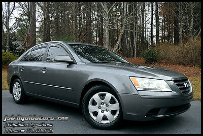 2009 Hyundai Sonata GLS Sedan 4-Door 09 Spare AM/FM/XM MP3 Cruise 0-Accidents Up To 32MPG Airbags A/C Low Reserve!!