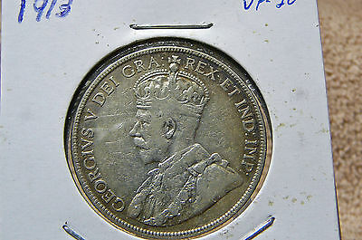 1913 Canada Fifty Cents George V