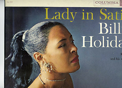 Lady in Satin - Billie Holiday, 33 rpm LP (Columbia 1157)