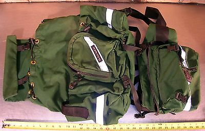"""The Pack Shop Inc., """"hotline"""" Top Load Pack With Fire Shelter Pouch - Green"""