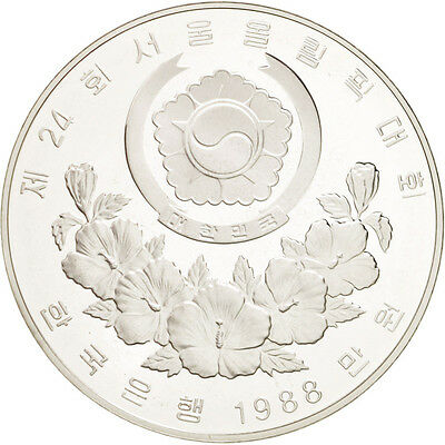 [#46321] KOREA-SOUTH, 10000 Won, 1988, KM #77, MS(65-70), Silver, 40, 33.61