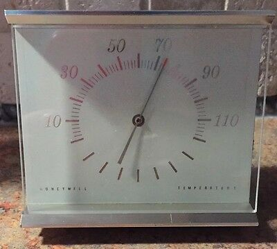"""Vintage Honeywell desktop thermometer Great condition Works well 4"""" x 4"""""""
