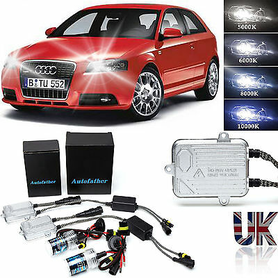 H7 XENON HID CONVERSION KIT HEADLIGHTS FOR Audi A2 A3 A4 A6 6000K 8000K 10000K
