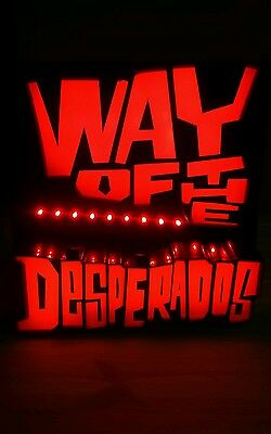 Desperados illuminated sign new and boxed limited time offer