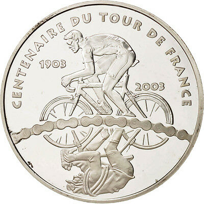 [#46610] France, 1-1/2 Euro, 2003, Paris, Tour de France, KM:1321