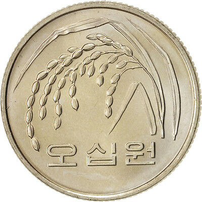 [#49095] KOREA-SOUTH, 50 Won, 1983, Copper-Nickel-Zinc, KM:34