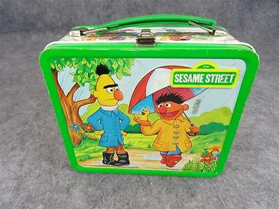 Vintage Sesame Seed Lunchbox With Thermos C. 1980'S