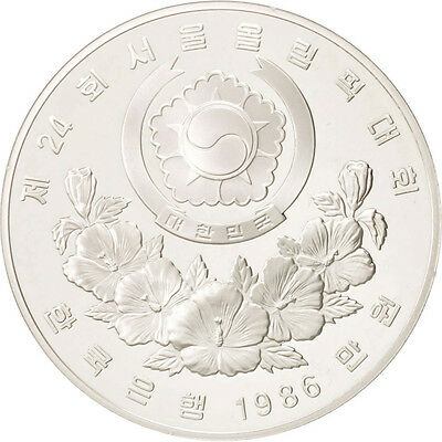 [#46847] KOREA-SOUTH, 10000 Won, 1986, Silver, KM:56