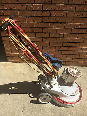 Used Polivac 40cm Suction Polisher Machine Pick-up from Bulleen, Victoria