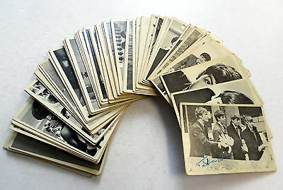 BEATLES Lot Of 60 TOPPS various TRADING CARDS Not Complete 1964 ROCK Beatlemania
